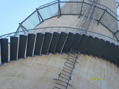 35米砖烟囱加固 盐城砖烟囱新建
