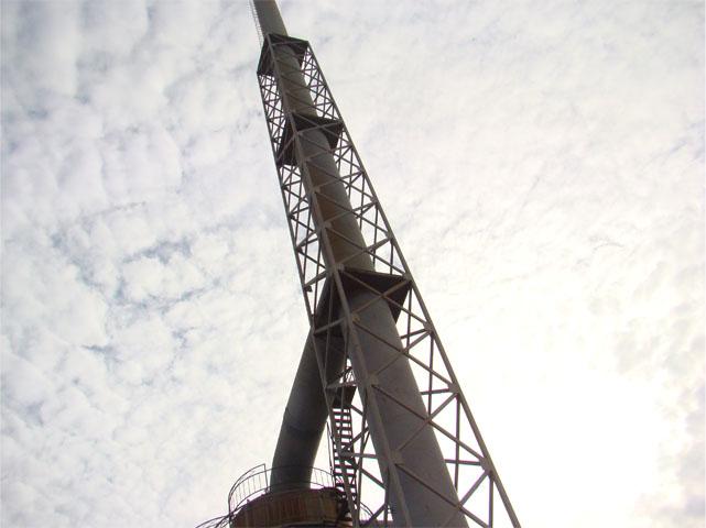 60米砖烟囱维修 神农架砖烟囱加高
