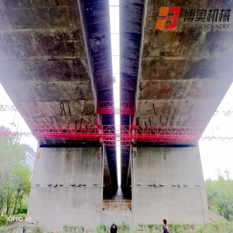 北京桥梁施工吊篮图片