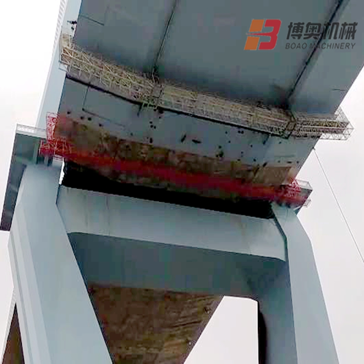 轻便的桥梁施工吊篮图片