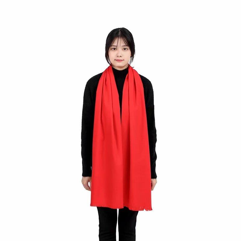 寧波紅圍巾定制