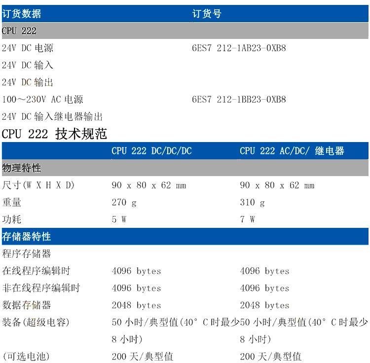 西门子扩展模块6ES7221-1BF22-0XA8