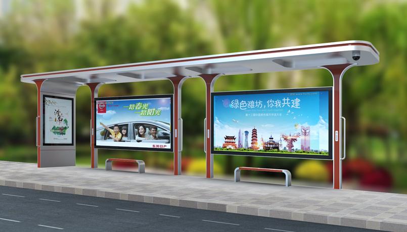 鋼結構公交站臺生產商