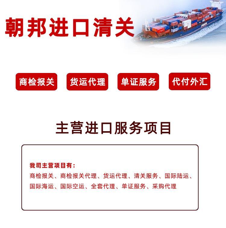 天津進口姜黃海運門到門運輸