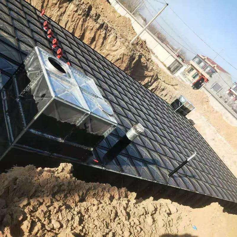 银川地埋式消防水箱水池生产厂家 管理便捷
