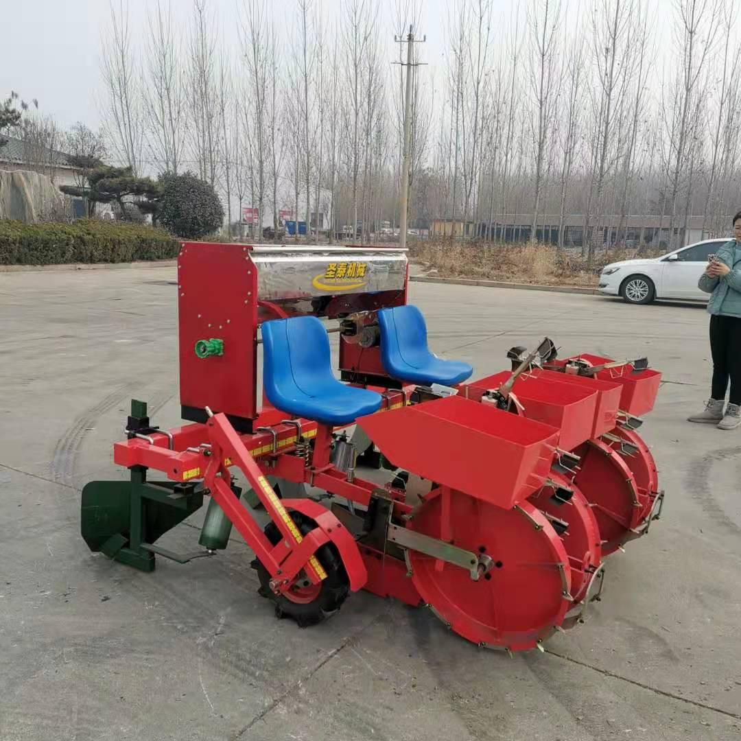 牽引式自動秧苗移栽機 座駕式秧苗移栽機