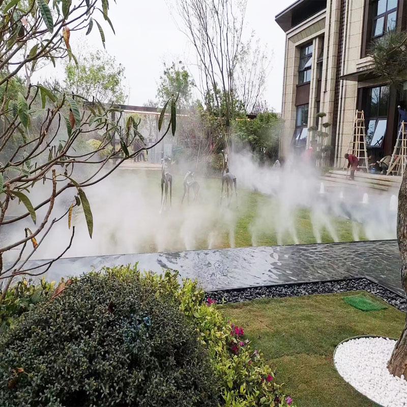 綠化帶人造霧設備