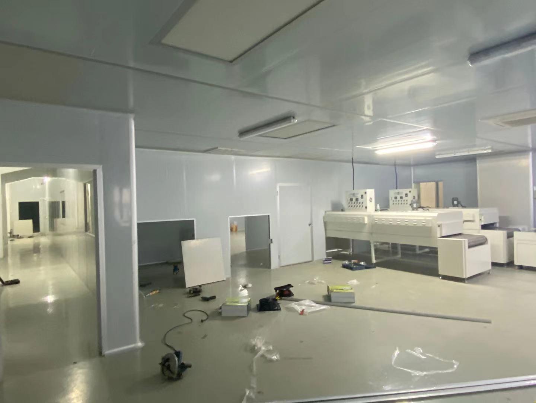 東坑角社廠房裝修-東坑鋼化玻璃隔斷隔墻-東坑廠房水電氣安裝工程