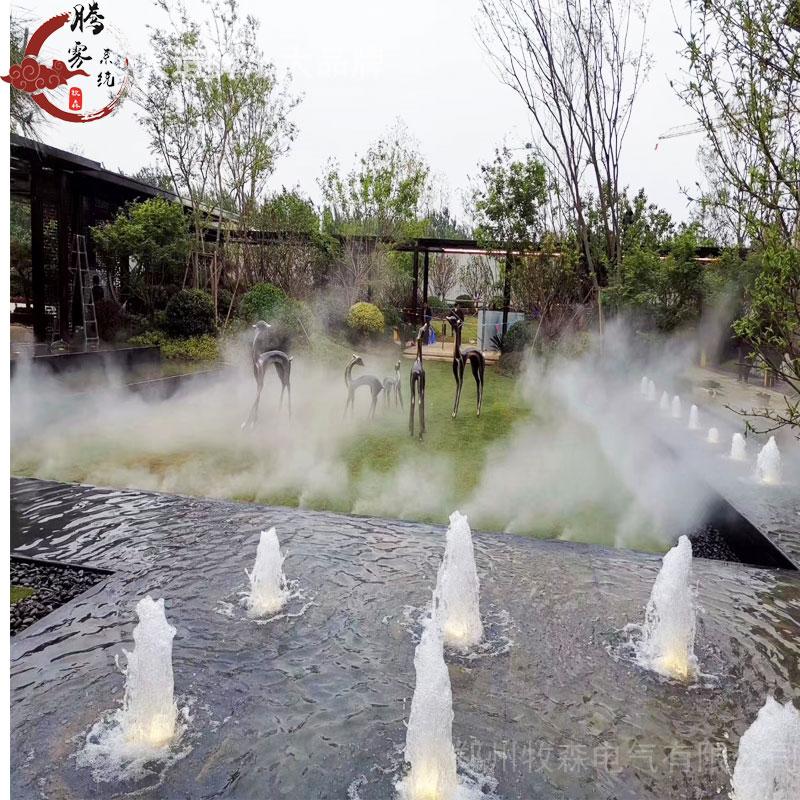廣州園林霧化 噴霧造景效果好