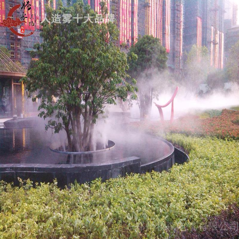 【人工造霧廠家】干冰造霧設備與高壓人造霧設備的區別
