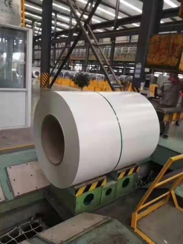 徐州工程厂房灰色彩钢卷
