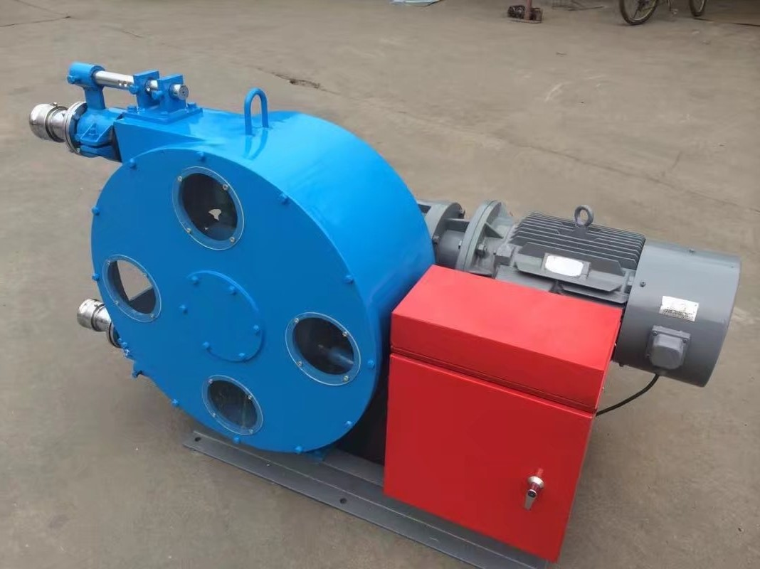 呂梁混凝土軟管泵 擠壓軟管泵