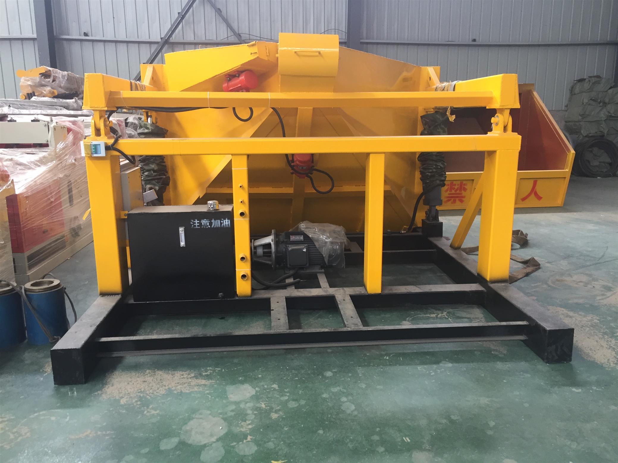吊裝式噴漿機組 操作簡單 轉場靈活 延邊噴漿上料機組