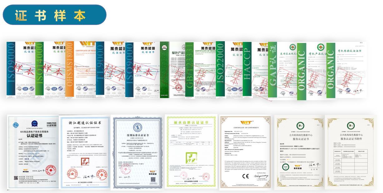 什么企业适合环境管理体系认证证书样本
