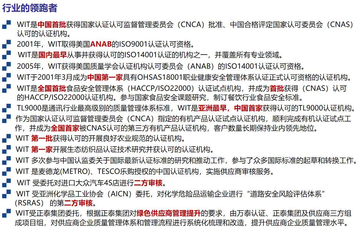 实施ISO45001认证换版