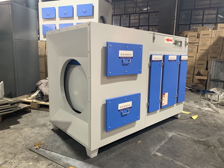 安装方式 汕头光氧活性炭一体机