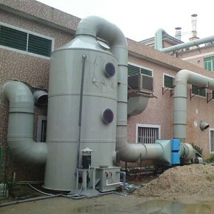 立式喷淋 安全环保 云南废气处理喷淋塔