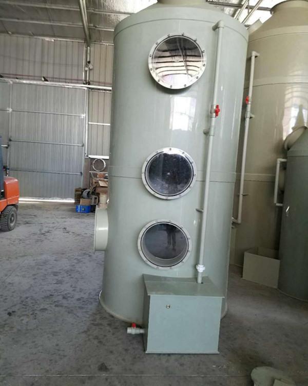 贵阳环保PP水喷淋塔 喷淋除尘器