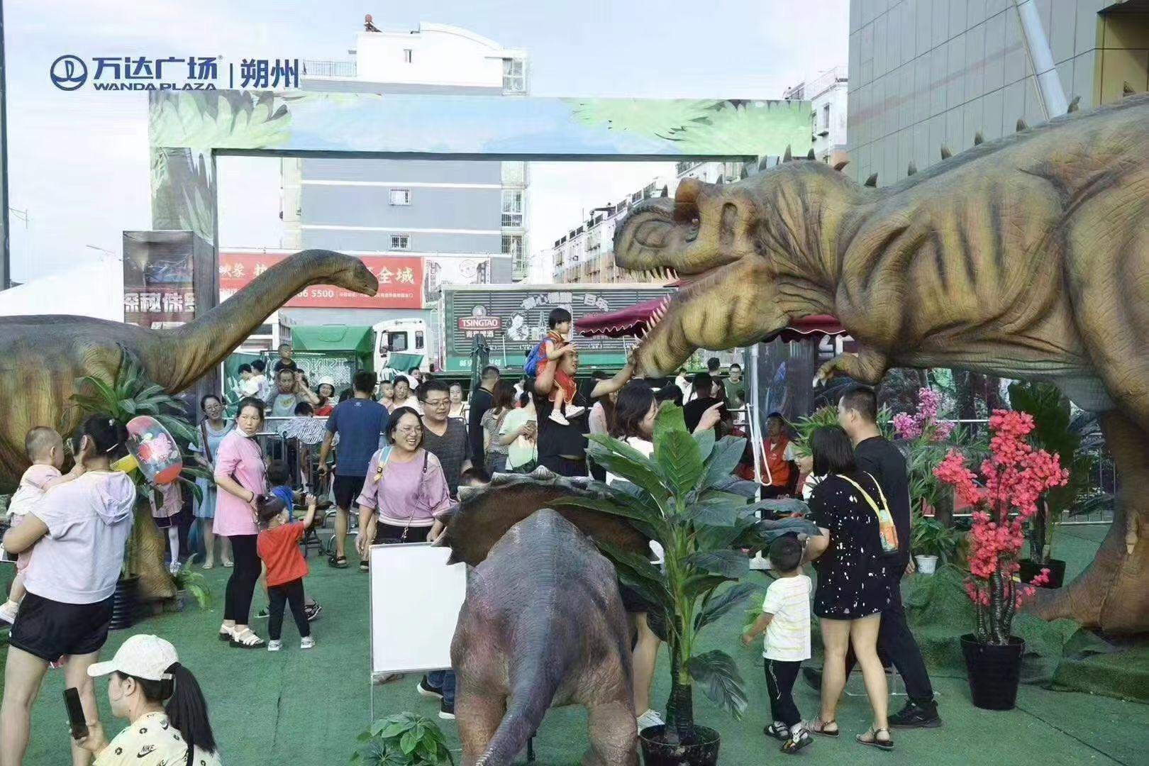 南昌游乐园重返侏罗纪恐龙展出租 兰州商场仿真恐龙展出租