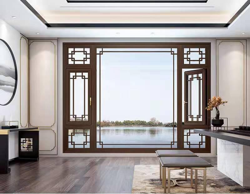 重慶中式門窗-中式平開窗