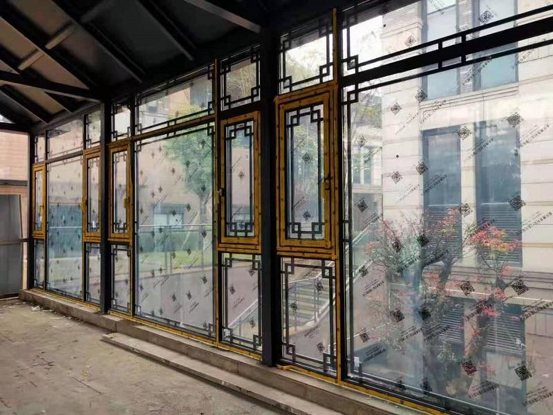 重慶中式斷橋門窗