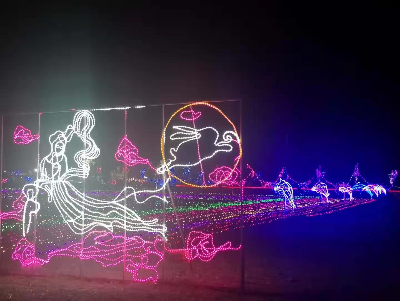 潮州燈光節出租廠家 燈光造型