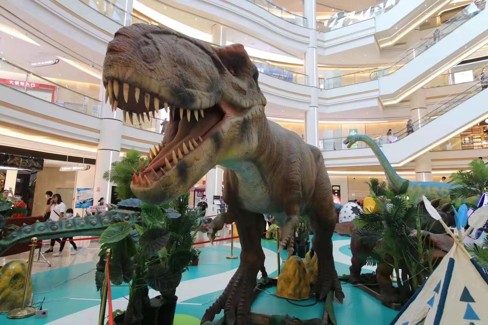 杭州恐龍模型出租價格 恐龍出租