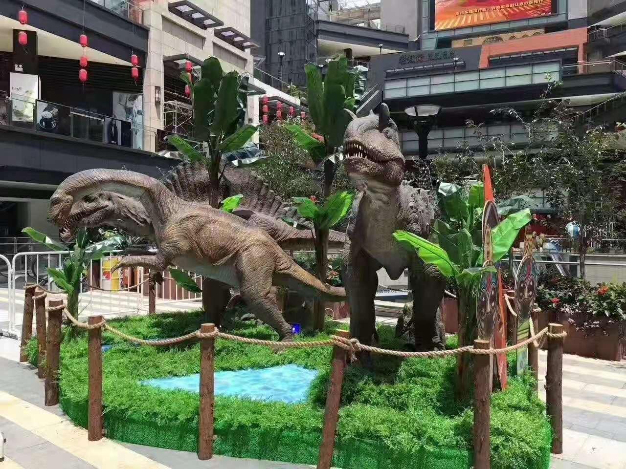 西安恐龍模型出租價格表 恐龍服裝出租