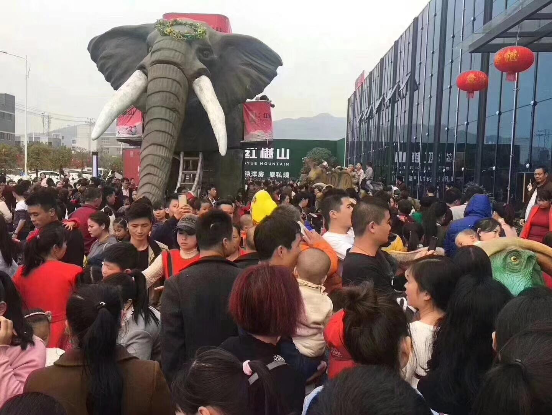 中山機械大象出租廠家 巡游大象租賃