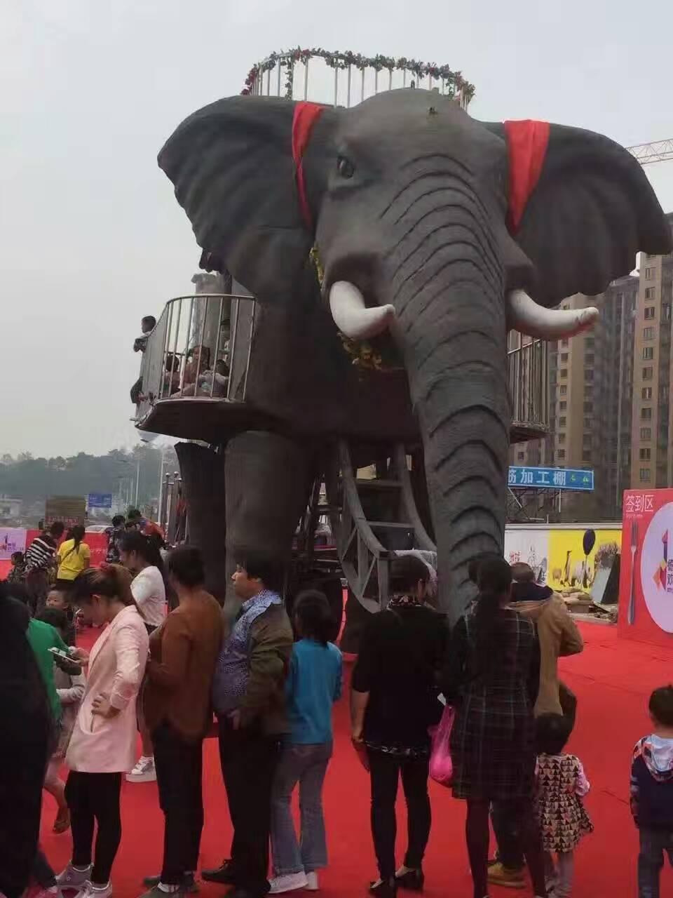 蘇州機械大象出租價格 機械大象租賃