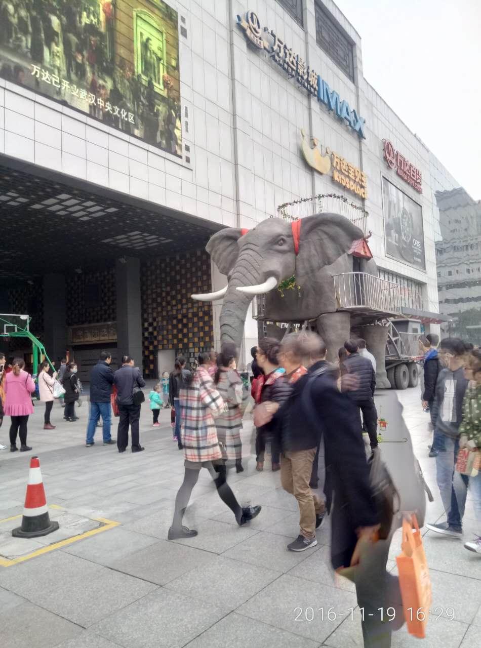 江門機械大象出租廠家 巡游大象租賃
