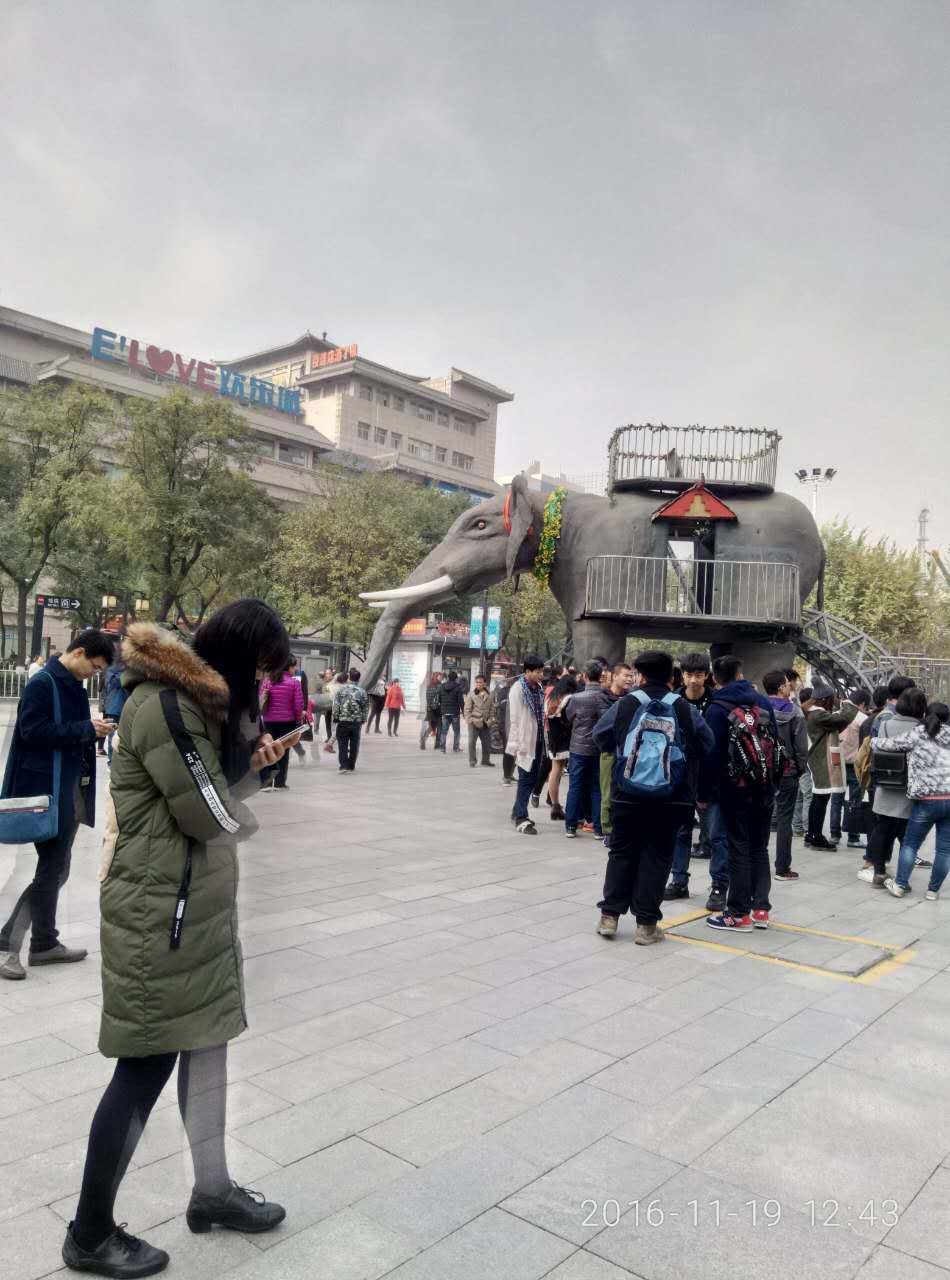 蘇州機械大象出租電話 巡游大象出租
