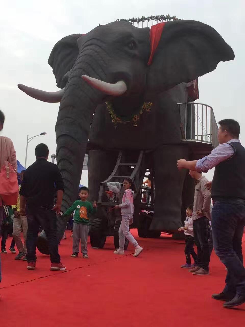 邯鄲機械大象出租電話 巡游大象租賃