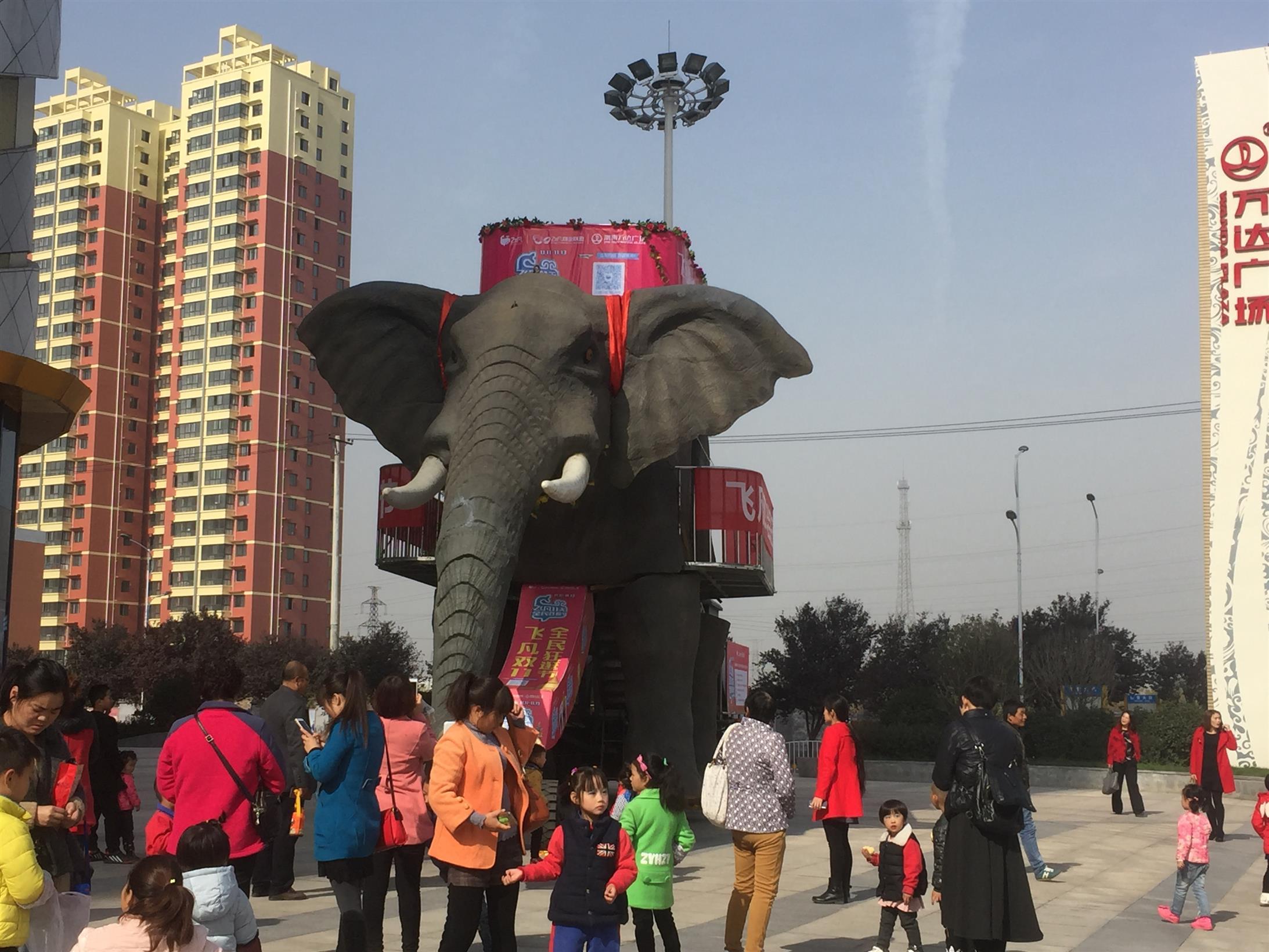南寧機械大象出租價格 巡游大象出租