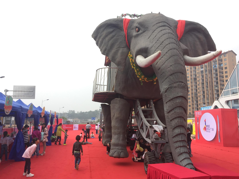 臺州機械大象出租價格表 巡游大象出租