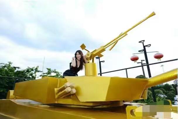 西安軍事模型出租廠家 坦克模型