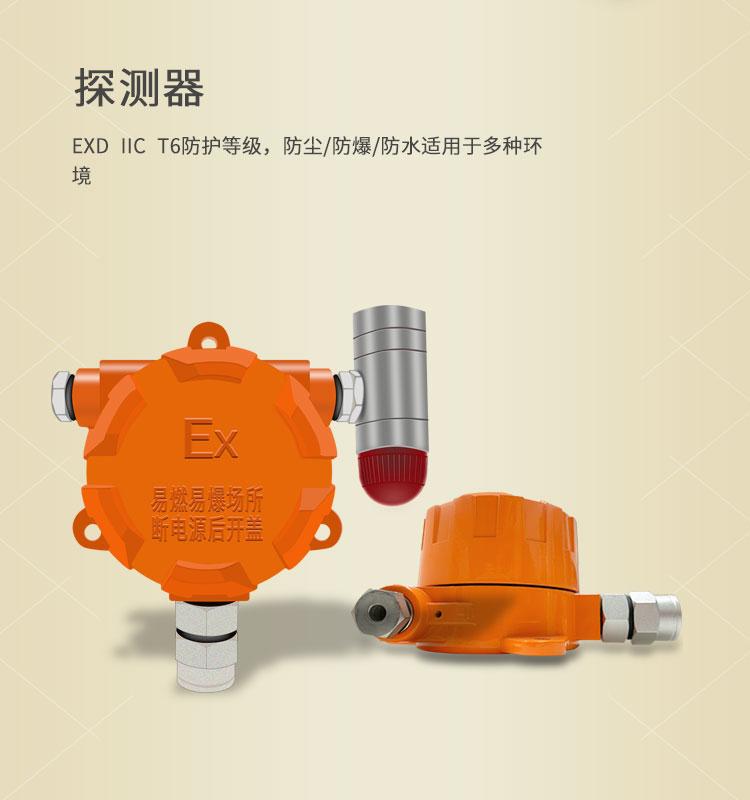 防爆紅紫外火焰探測器