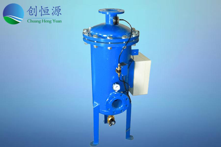 自清洗過濾器用于循環冷卻水系統