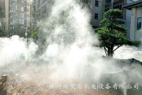 水池人造霧設備批發