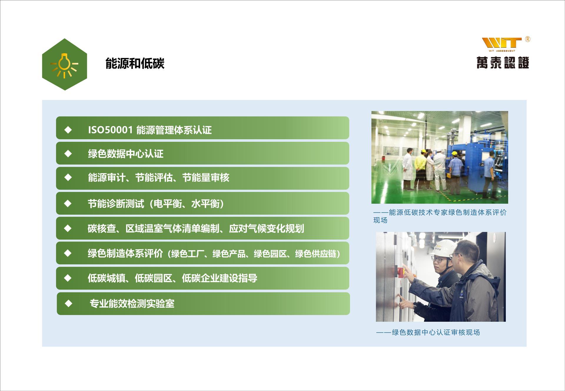 ISO50001认证认证