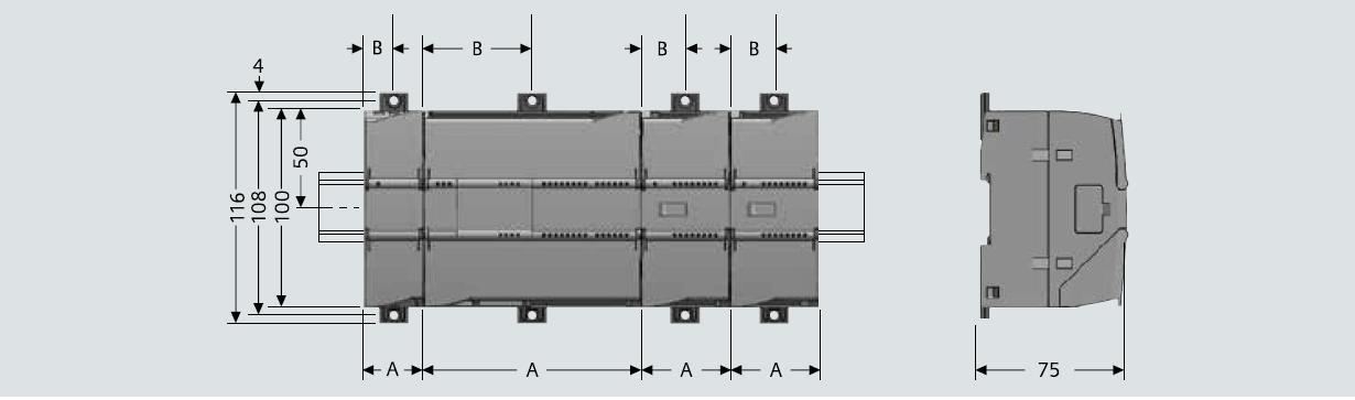 西门子S7-1200模拟量扩展模块SM1234