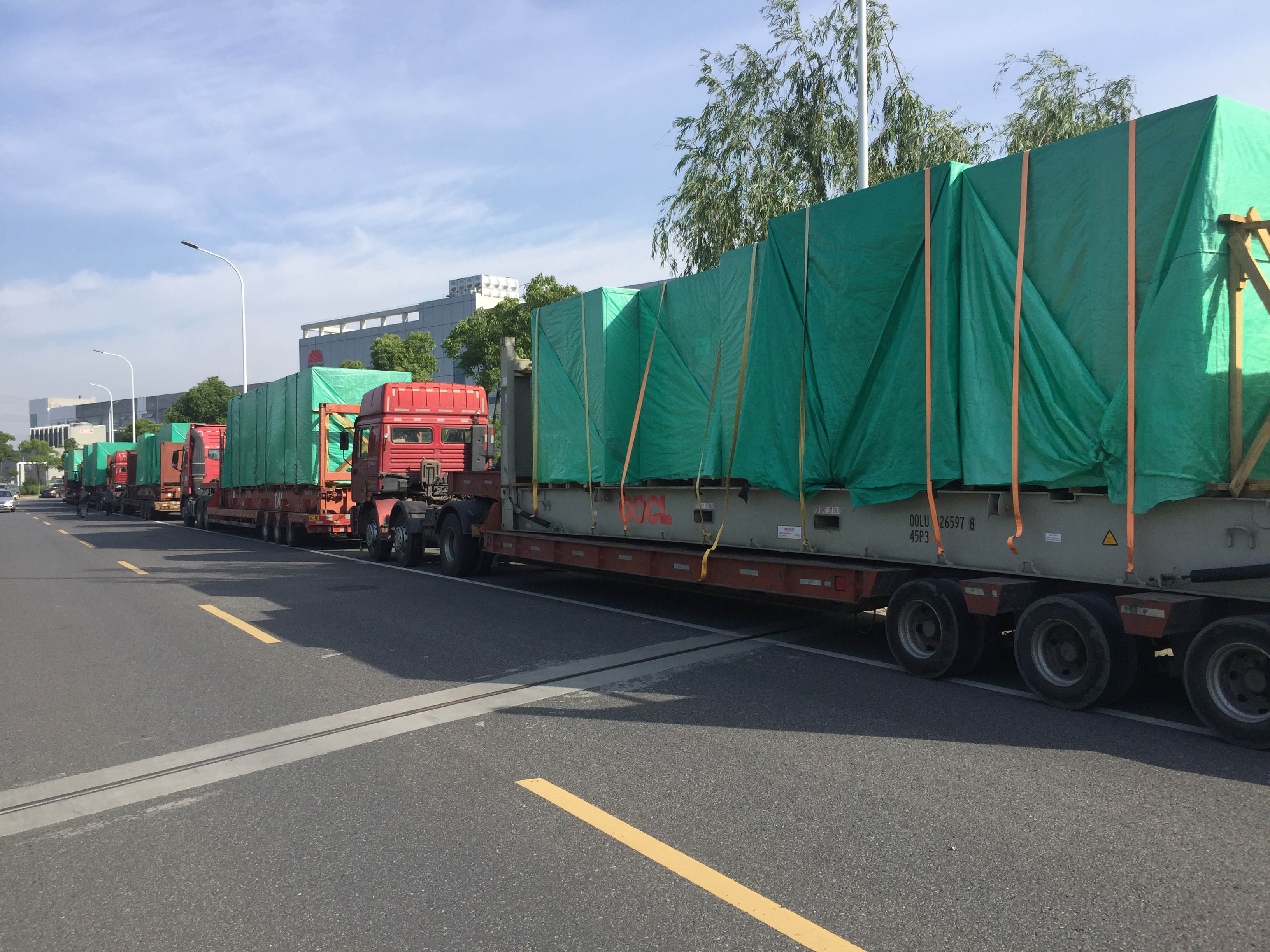 特種集裝箱運輸 農業機械配件進口貨代服務代理