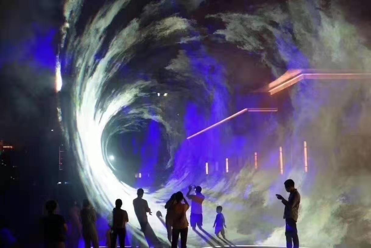 濟南網紅北極光設備出租 大型激光秀 投射范圍大