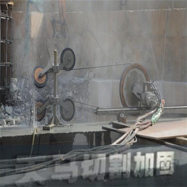 工期短-銀川鋼筋混凝土繩鋸靜力切割