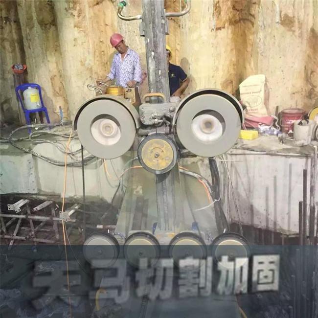 施工工期短-太原混凝土桥梁静力切割拆除
