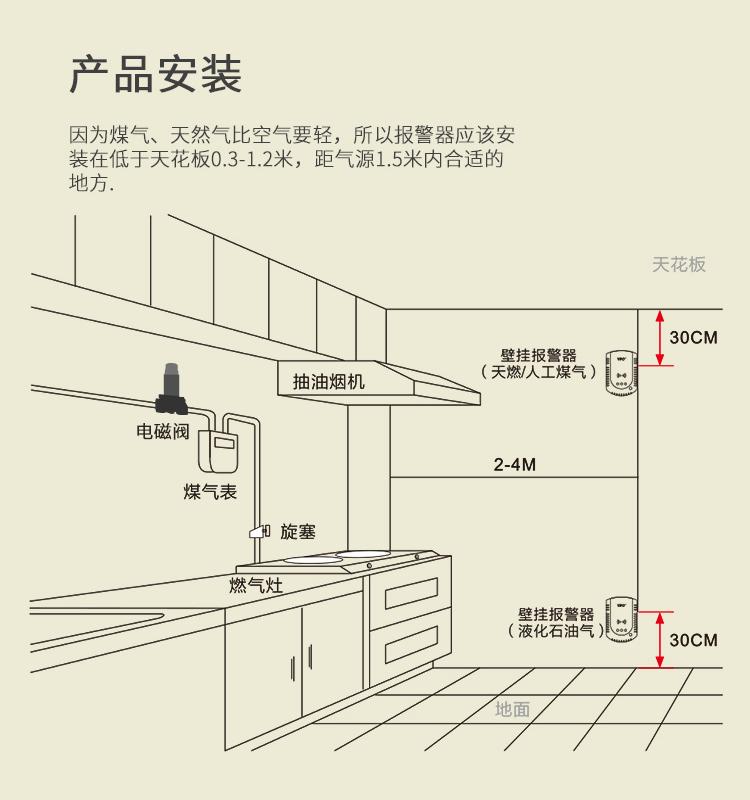 氣體報警控制器可燃氣體報警器