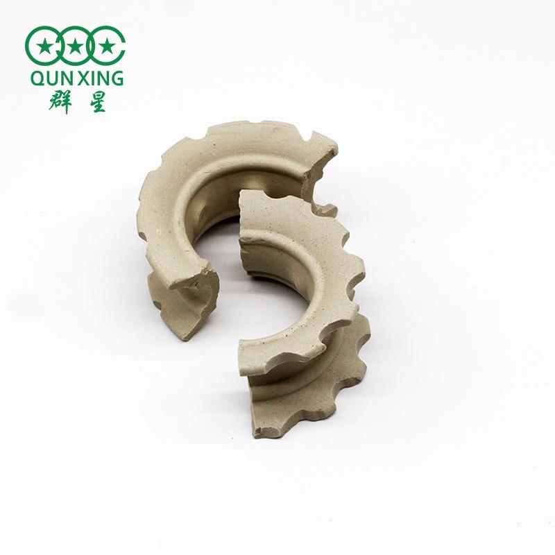 陶瓷異鞍環 瓷環 塔內件散堆 萍鄉填料廠家