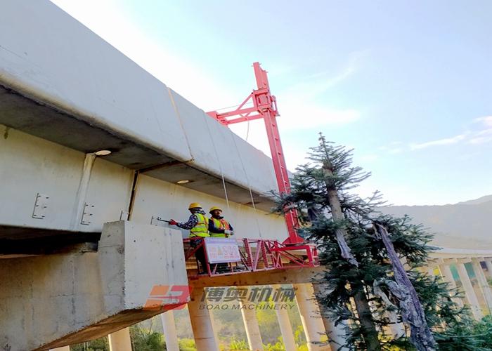 沈阳桥梁下水管安装设备