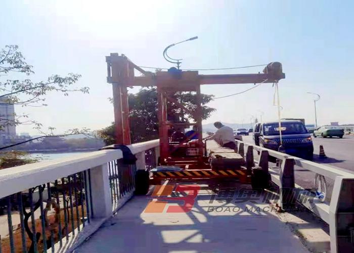 南充桥梁电缆施工吊篮