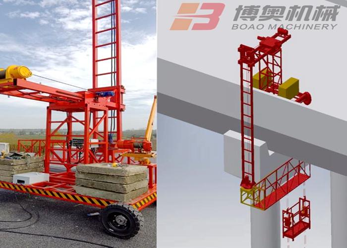 郑州桥梁电缆施工台车